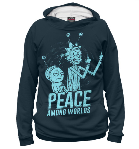 Худи Print Bar Peace among worlds! correlation among