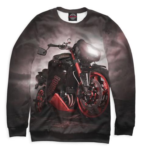 Мужской свитшот Мотоцикл