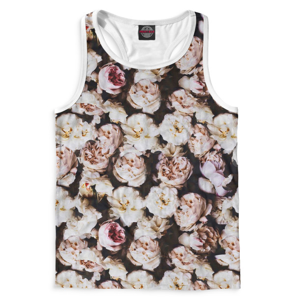 Купить Мужская майка-борцовка Цветы CVE-328920-mayb-2