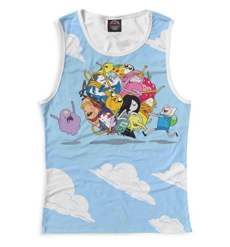 Женская майка Adventure Time