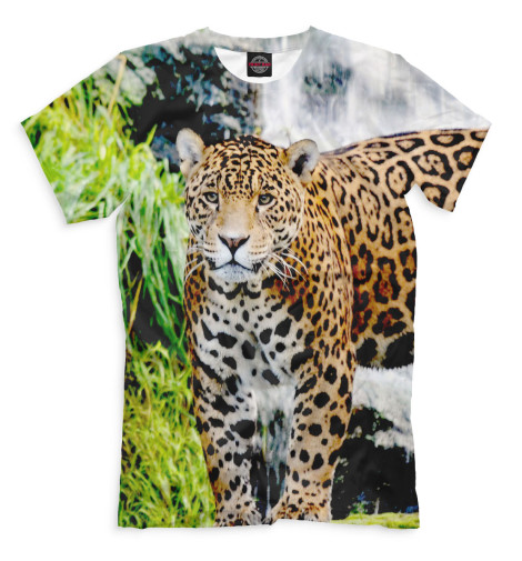 Мужская футболка Ягуар
