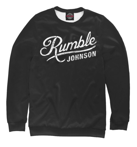 Свитшот Print Bar Rumble Johnson rumble roses xx купить спб