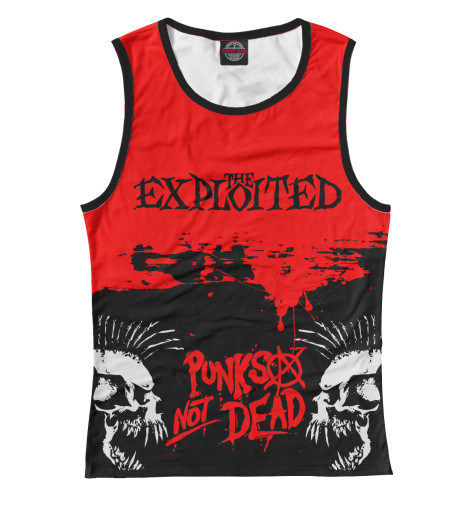 Майка Print Bar The Exploited the exploited the exploited apocalypse tour 1981 limited edition lp