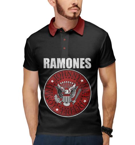 Поло Print Bar Ramones свитшот print bar ramones