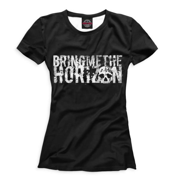 Купить Женская футболка Bring Me the Horizon BRI-819746-fut-1