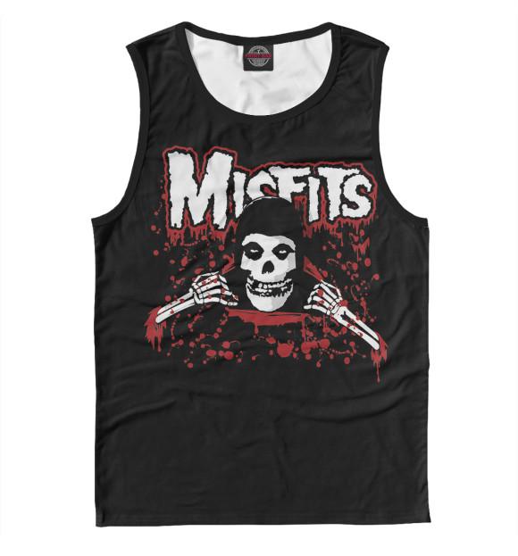 Купить Мужская майка Misfits dead in blood MZK-239230-may-2