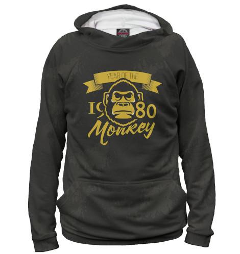 Купить Мужское худи Год обезьяны — 1980 DVH-791622-hud-2
