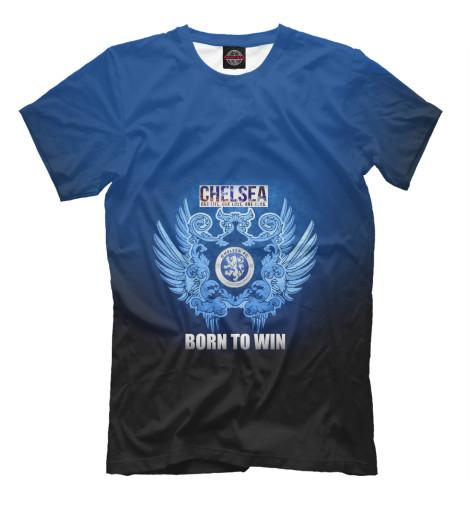 Футболка Print Bar Chelsea - Born to win майка борцовка print bar chelsea born to win