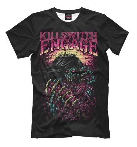 Футболка Print Bar Killswitch Engage виниловая пластинка killswitch engage incarnate