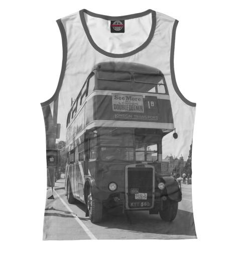 Майка Print Bar Англия. Лондон. Автобус. восток и запад англия и лондон страна жемчуга