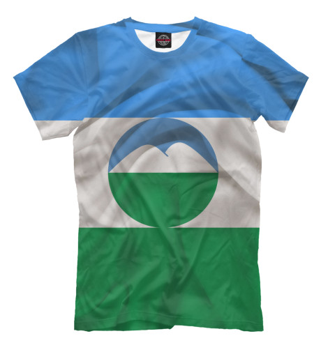 Футболка Print Bar Кабардино-Балкария футболка рингер printio республика кабардино балкария нальчик