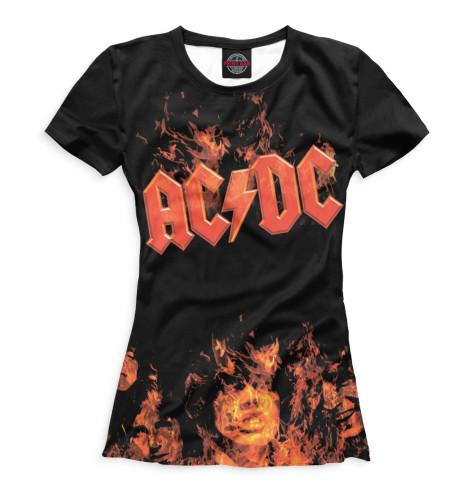 Женская футболка AC/DC