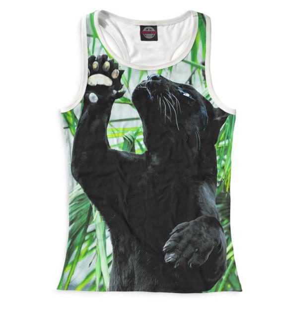 Купить Майка для девочки Чёрная пантера HIS-434679-mayb-1