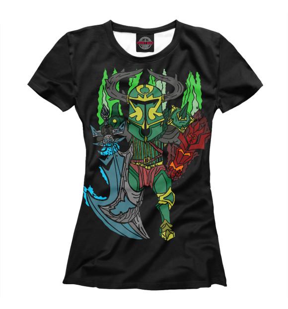 Купить Женская футболка Фан арт Wraith King DO2-502003-fut-1