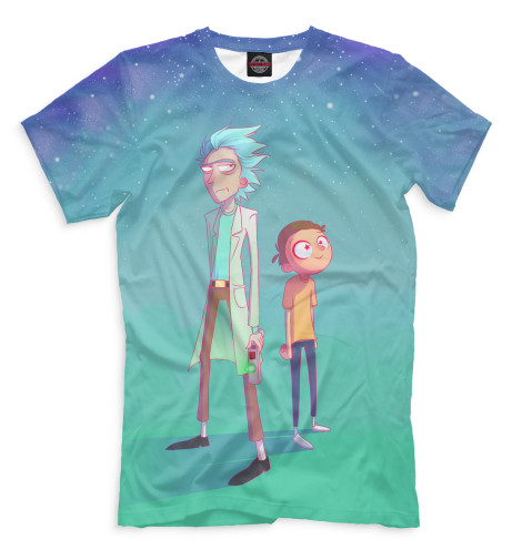 Купить Мужская футболка Рик и Морти RNM-496558-fut-2