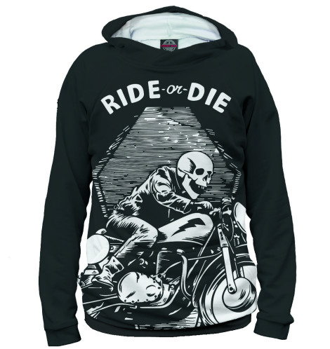 Худи Print Bar Ride or Die худи print bar ride hard or ride home