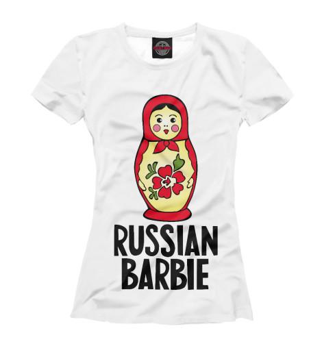 Футболка Print Bar Русская барби футболка print bar shogun assassin
