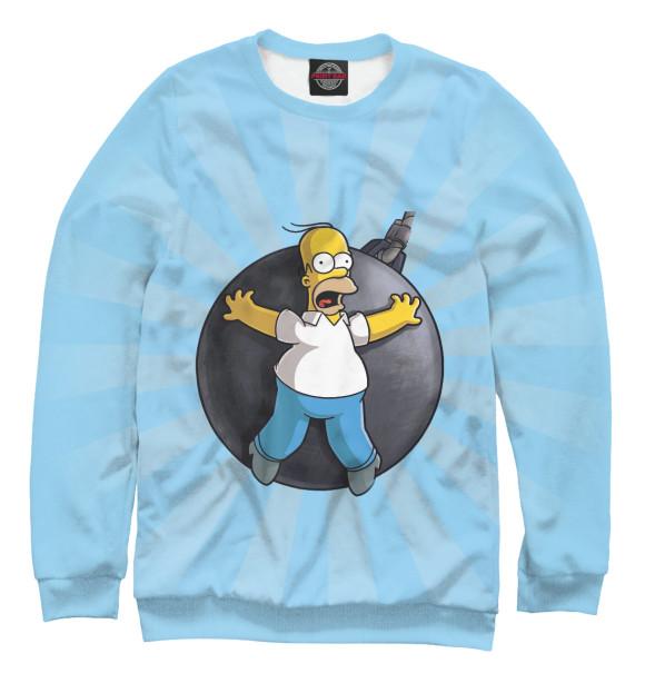 Купить Мужской свитшот Homer Bombing SIM-576008-swi-2