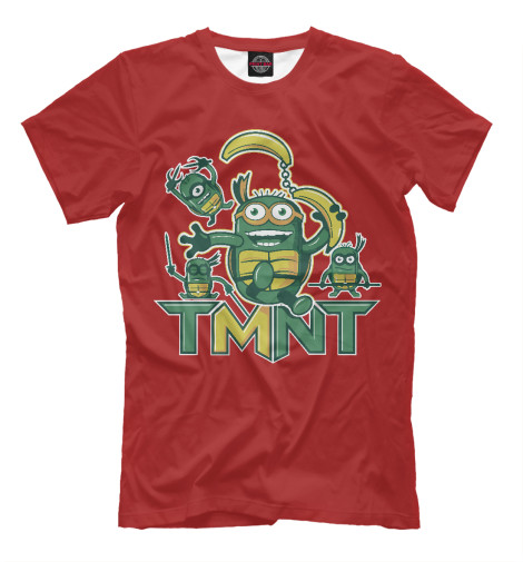 Футболка Print Bar TMNT Minions tmnt 12 90545