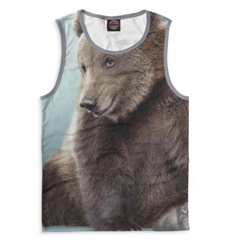 Мужская майка Медведь