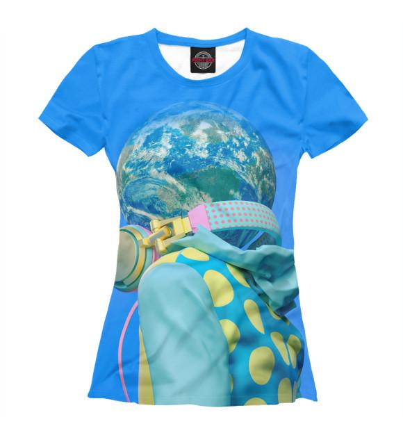 Купить Женская футболка Шар PSY-592171-fut-1