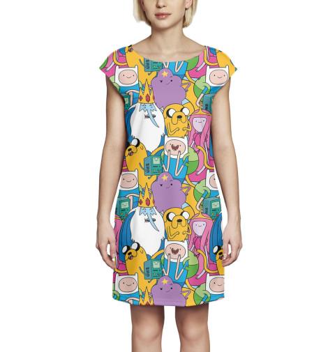 Платье без рукавов Print Bar Adventure Time