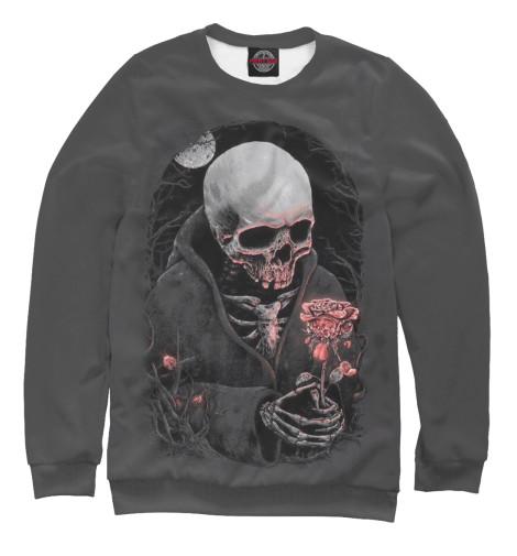 Свитшот Print Bar Смерть и роза пламенная роза тюдоров