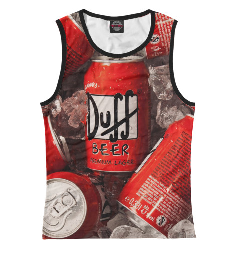 Майка Print Bar Duff Beer худи print bar duff beer