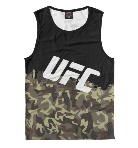 Майка Print Bar UFC Камуфляжная ufc 2 ps4