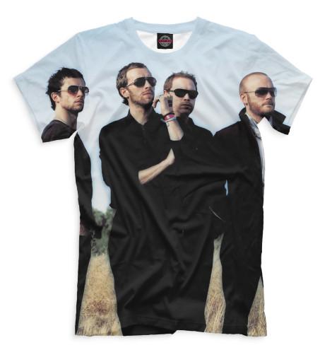 Мужская футболка Coldplay