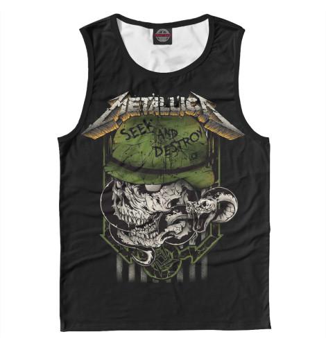 Майка Print Bar Metallica Seek and Destroy майка print bar metallica hardwired   to self destruct