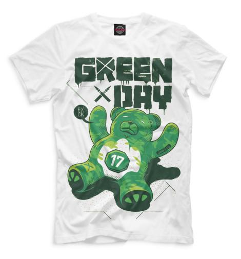 Купить Мужская футболка Green Day GRE-137771-fut-2