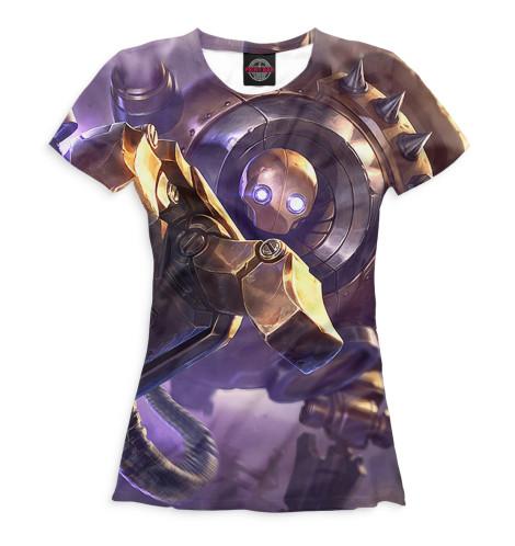 Женская футболка Blitzcrank