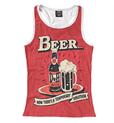 Купить Женская майка-борцовка Duff Beer SIM-331363-mayb-1