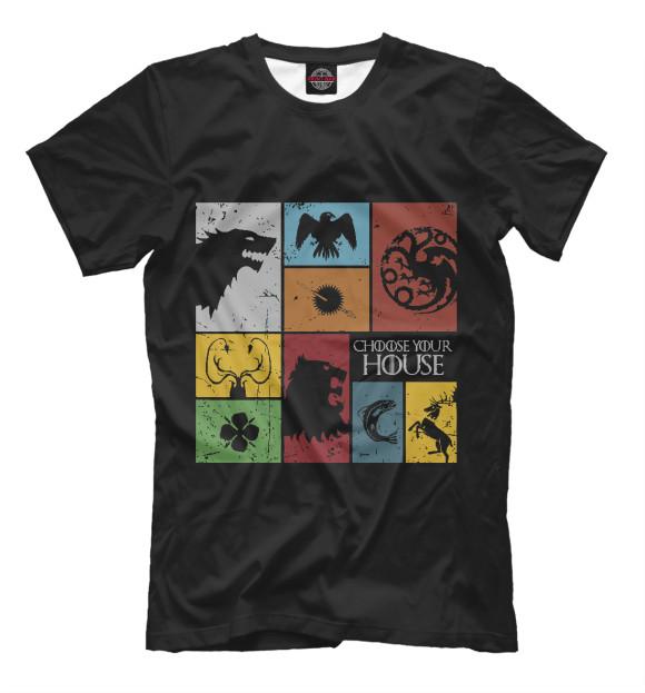 Купить Мужская футболка Выбери свой дом IGR-819203-fut-2