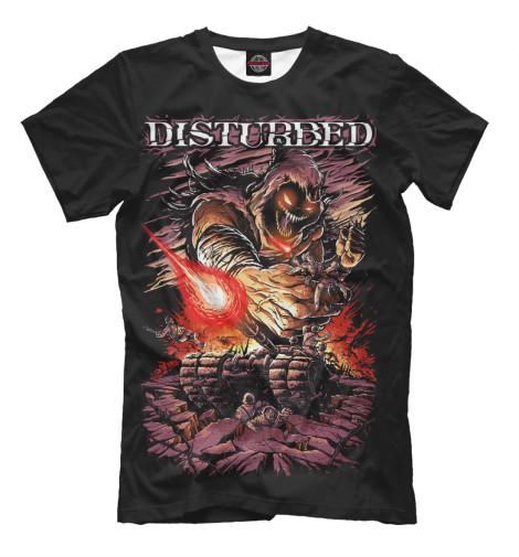 Футболка Print Bar Disturbed disturbed disturbed ten thousand fists cd dvd