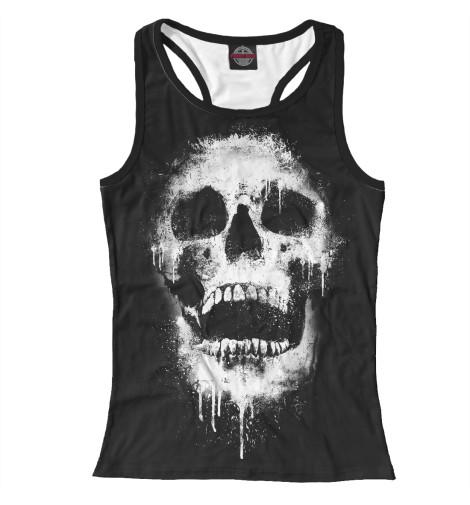 Майка борцовка Print Bar Evil Skull худи print bar skull