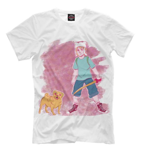 Купить Мужская футболка Финн и Джейк ADV-163344-fut-2