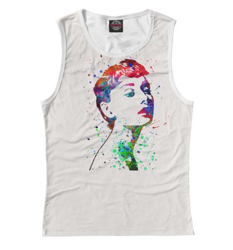 Майка Print Bar Одри Хепберн платья одри интернет магазин