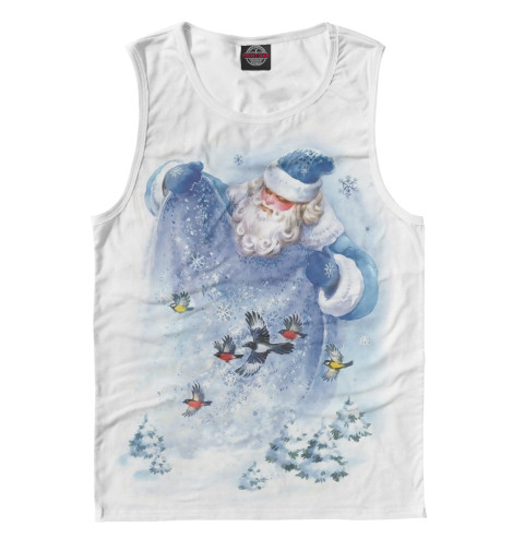 Купить Майка для мальчика Дед Мороз NOV-520560-may-2