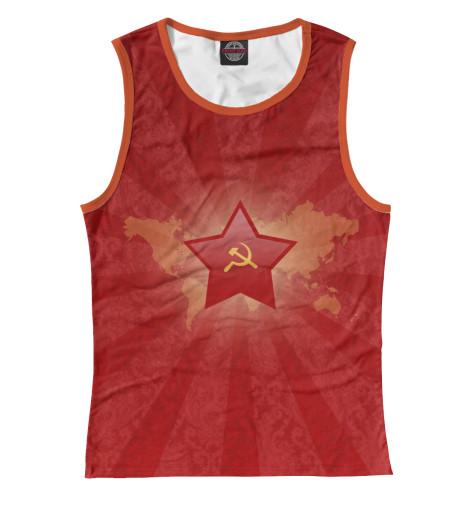 Майка Print Bar Красная звезда матрас соната софт 90x200
