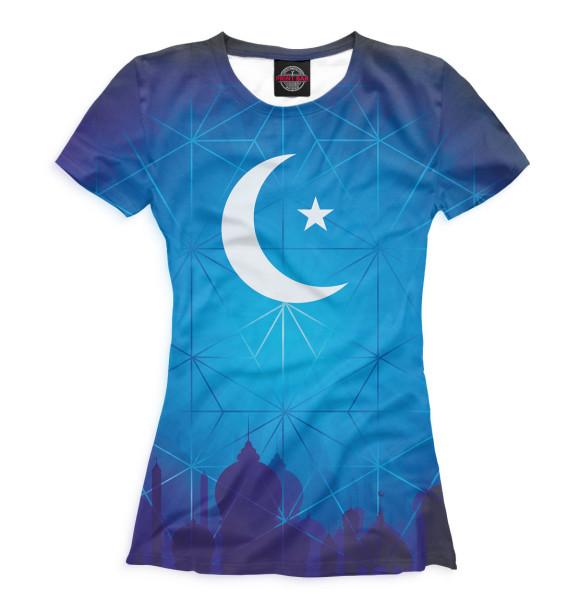 Купить Футболка для девочек Ислам ISL-641441-fut-1