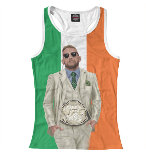 Майка борцовка Print Bar Conor McGregor чехлы для телефонов nillkin накладка nillkin super frosted shield для samsung galaxy ace nxt g313h