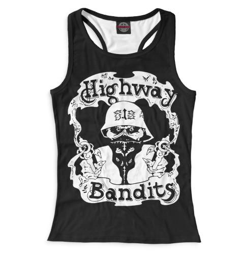 Женская майка-борцовка Highway Bandits