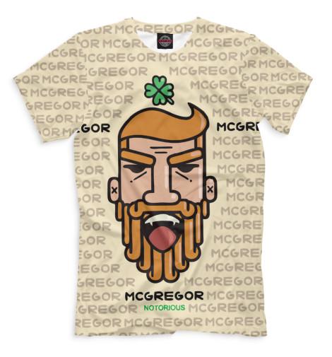 Купить Мужская футболка Конор МакГрегор MCG-863027-fut-2