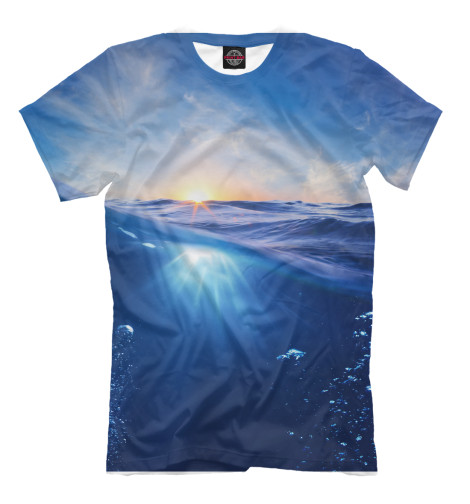 Мужская футболка Морской рай