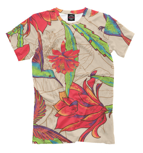 Футболка Print Bar tropical birds свитшот print bar tropical style