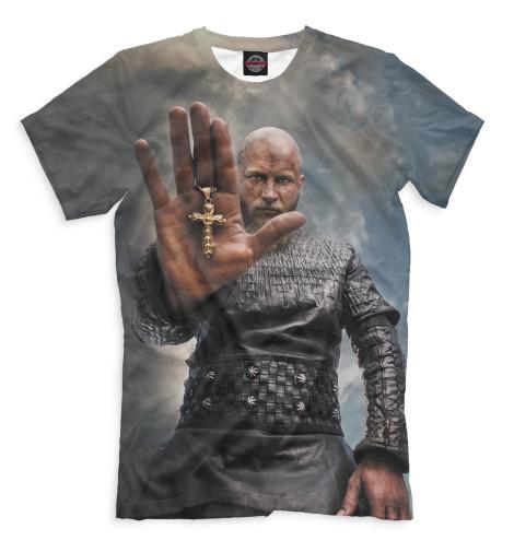 Мужская футболка Рагнар Лодброк