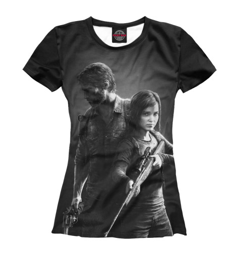 Футболка Print Bar The Last of Us худи print bar the last of us