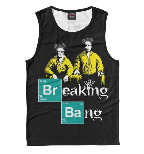 Майка Print Bar Breaking Bang breaking bad официальное издание сериала во все тяжкие